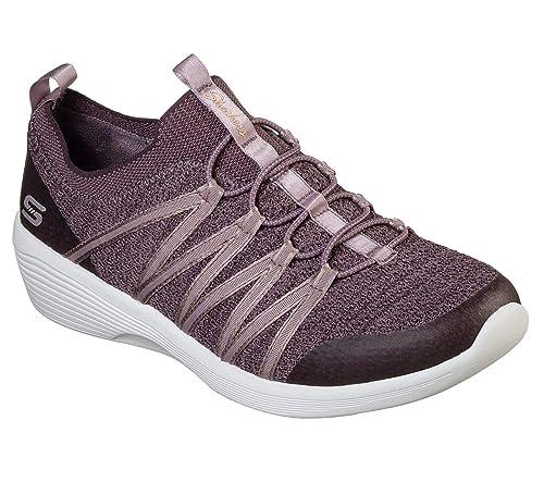 Skechers Arya, Zapatillas sin Cordones para Mujer: Amazon.es: Zapatos y complementos
