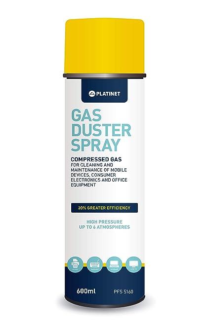 Platinet PFS5160, Spray aire comprimido para limpieza de ...