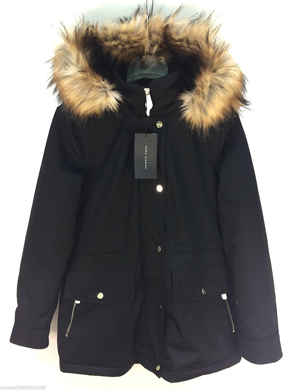 fc3610493a87 Zara Parka Coat With Fur Hood  Amazon.co.uk  Clothing