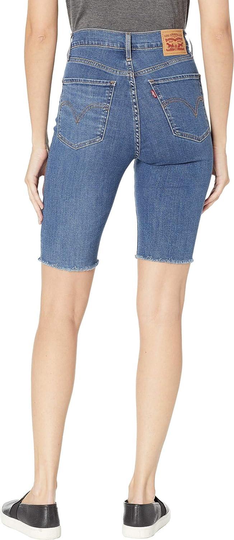 83bd95a7 Levi's Women's Mile High Bike Shorts at Amazon Women's Clothing store: