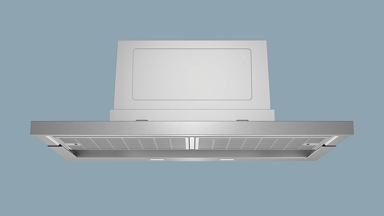 Siemens LI97RC540 De pared Acero inoxidable 700m³/h A - Campana (700 m³/h, Canalizado/Recirculación, A, A, B, 55 dB): Amazon.es: Blanco Gris