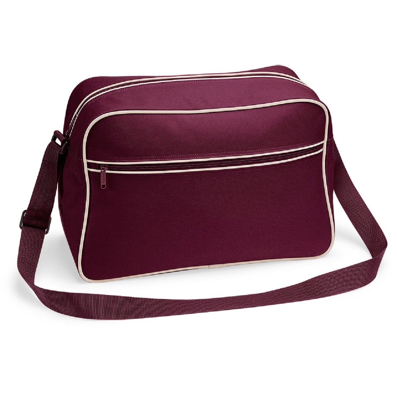 Bagbase retro Shoulder Bag Black/Gold