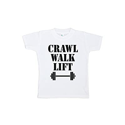 7 ate 9 Apparel Kids Crawl Walk Lift T-Shirt
