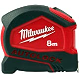 Milwaukee 4932464178 8m//26ft Premium bande magnétique Mesure Pack De 3