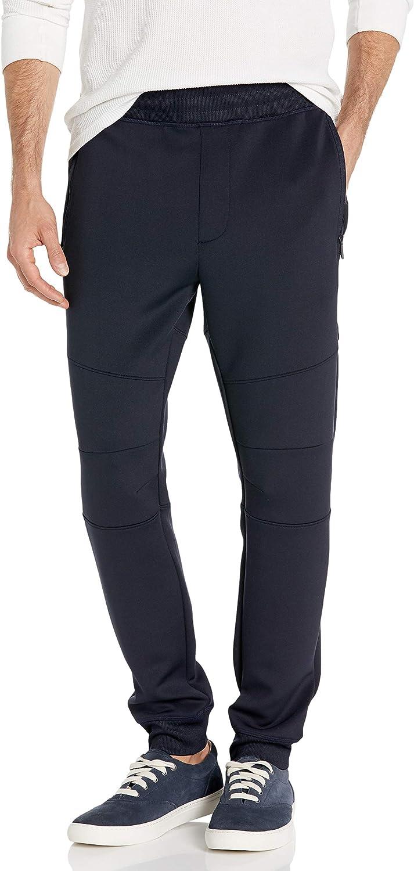 Sean John Men's Extended Zipper Pockets Jogger Pant