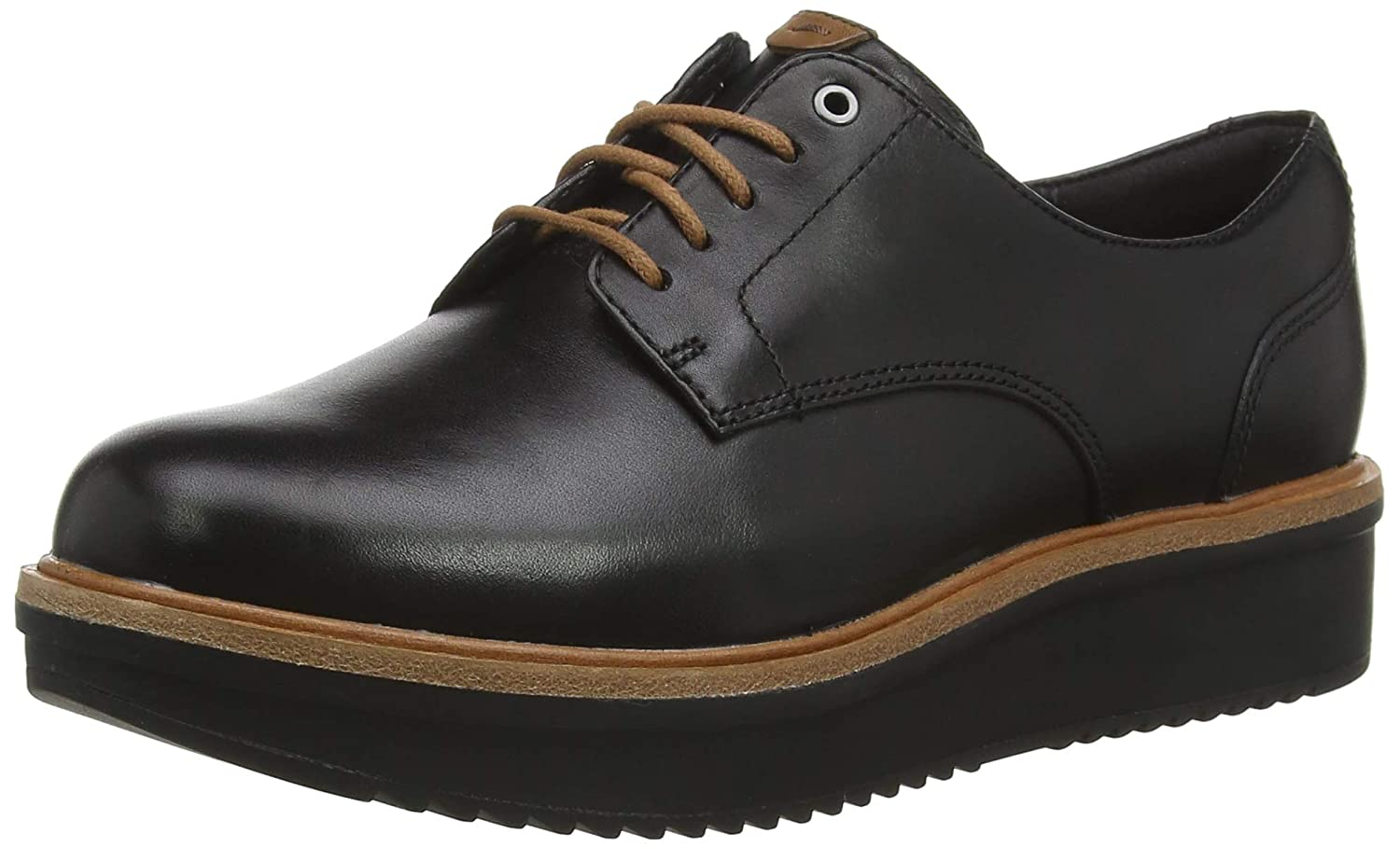 Clarks Teadale Rhea, Scarpe Stringate Brosso Donna Donna Donna | In Linea Outlet Store  db435a