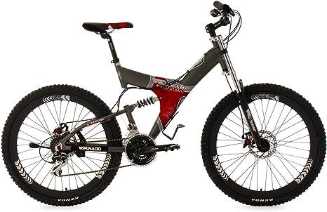 KS Cycling Fully G-Titan - Bicicleta de montaña de doble ...