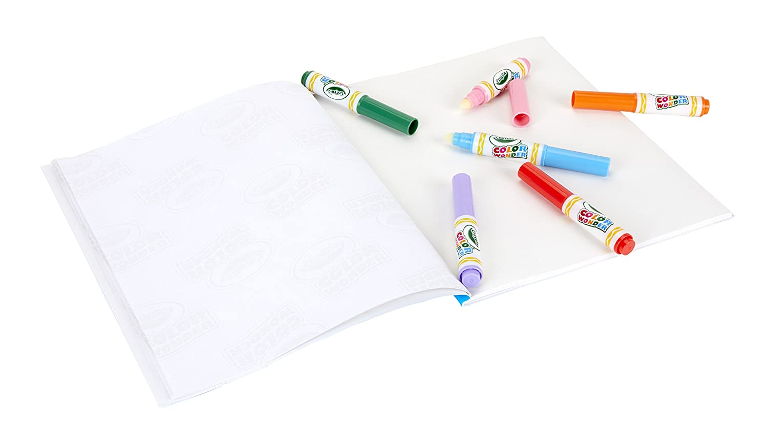 Gift for Kids Age 3 6 75-2211 10 Count 5 Mess Free Coloring 4 Crayola Color Wonder Markers