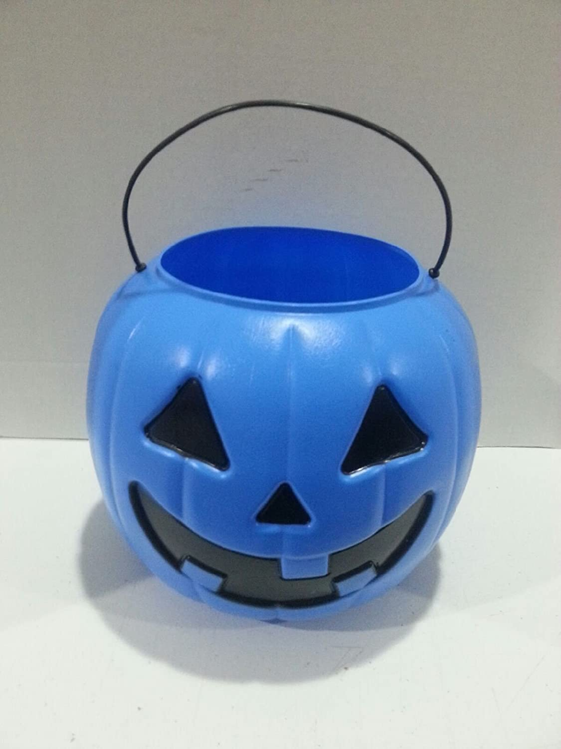 Halloween Pumpkin Jack O' Lantern Candy Bucket (Blue) General Foam Plastics