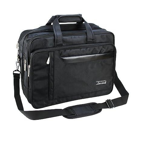 Men s Large Sleeve Carrying Bag Business Brifecase Holder Detachable Strap  Expandable Handbag Travel Shoulder Bag Crossbody 94d50c92ebce3