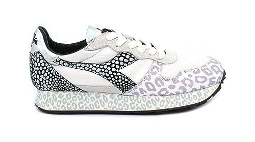Diadora Sneaker Camaro H Animalier W WhiteBlack: Amazon.it