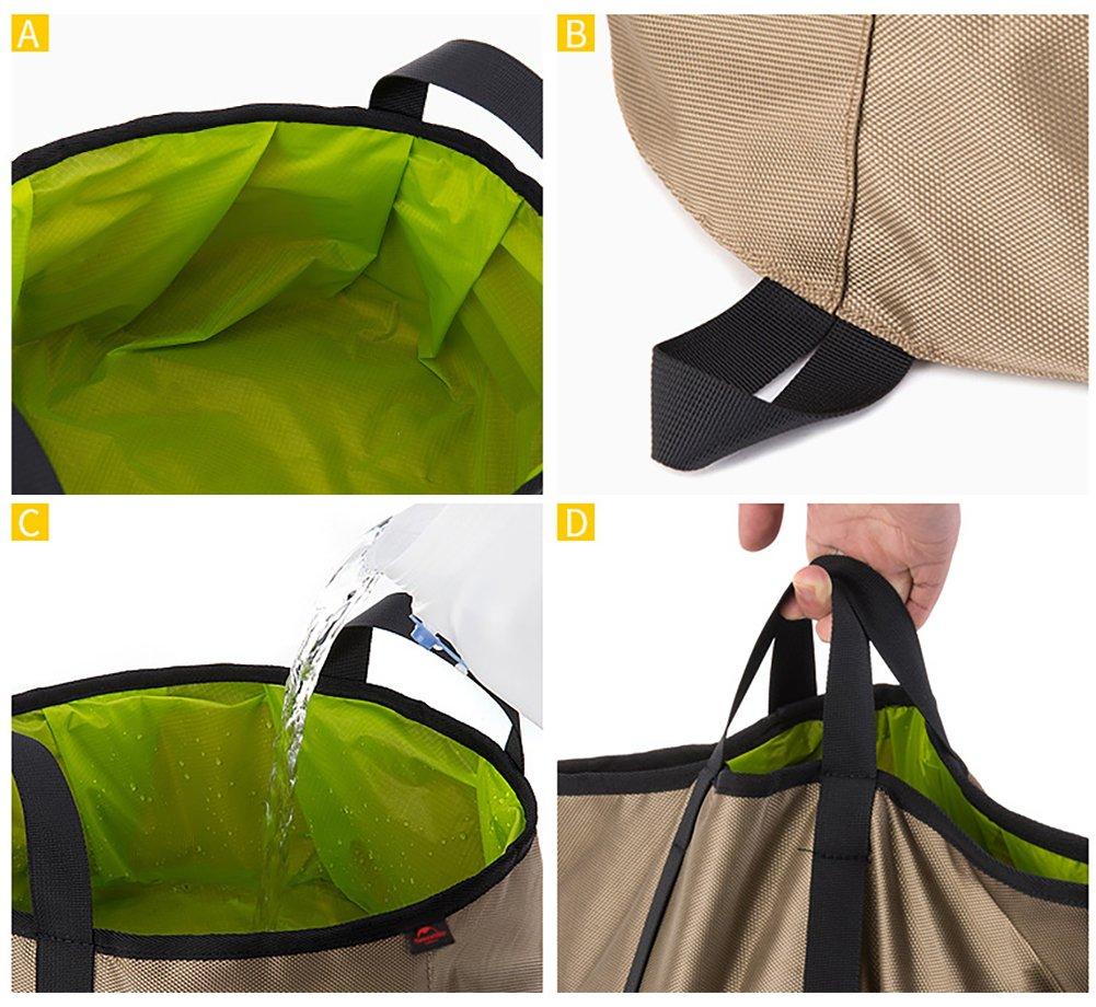 Naturehike Ultralight Folding Basin Camping Folding Water Basin Waterproof Bag Bucket