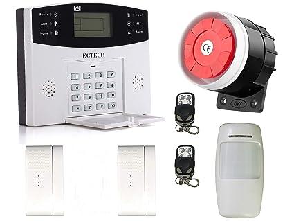 ECTECH Kits de seguridad,GSM Sistemas de seguridad para el hogar ...