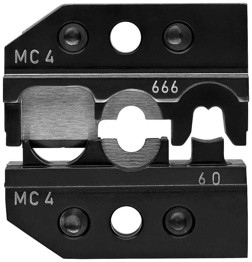 KNIPEX 97 49 66 6 Crimpeinsatz fü r Solar-Steckverbinder MC4 (Multi-Contact) schneiden - abisolieren - crimpen Knipex-Werk - C. Gustav Putsch KG