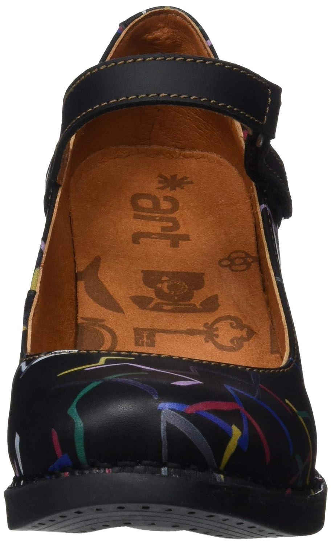 Art Damen 0933f Fantasy Confeti schwarz schwarz schwarz Harlem Pumps 0abe5a