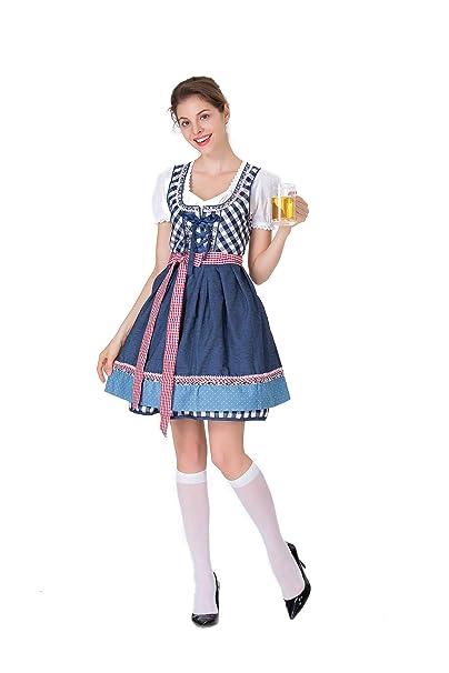 ACHICOO Halloween. Oktoberfest Vestido estilo Festival de la ...