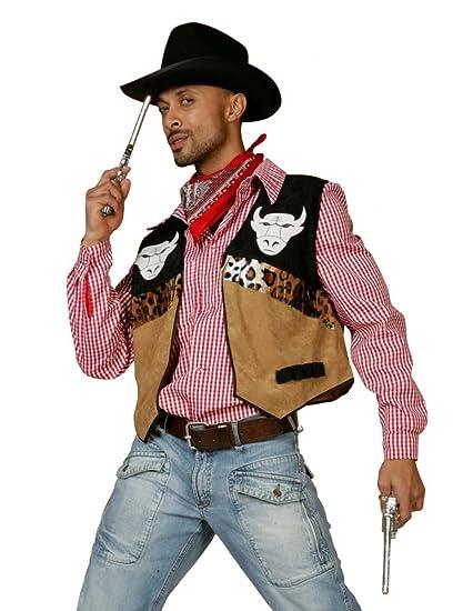 Chaleco vaquero para hombre traje, tamaño 50 - 60: Amazon.es ...