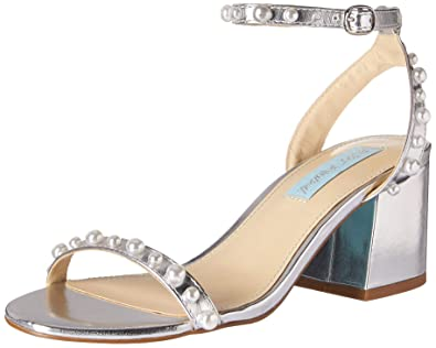 a9199d1373d6 Blue by Betsey Johnson Women s SB-Milli Heeled Sandal