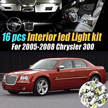 For Chrysler 300 300C Xenon White LED Number Plate Light Bulbs *SALE*