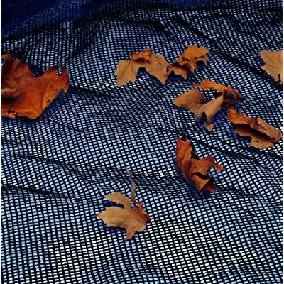 Blue Wave 15-ft x 30-ft Oval Leaf Net Above Ground Pool Cover : Swimming Pool Covers : Garden & Outdoor