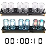 WHDTS LED Chromatographic Glass Clock DIY Kit 10mm RGB LED Flashing Lamp Gradient Color Decorative Lights for Soldering…