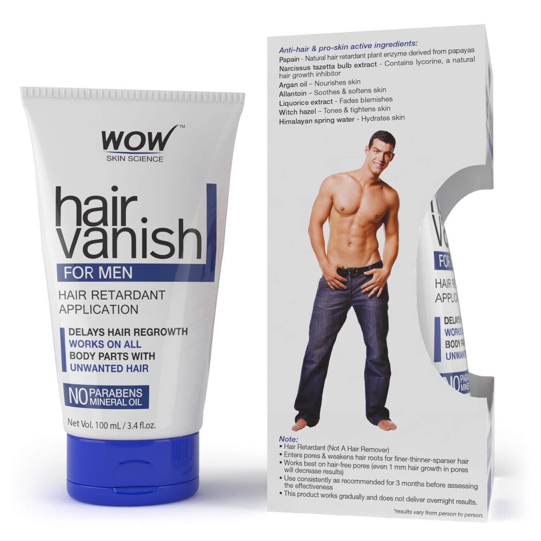 WOW Hair Vanish For Men - No Parabens & Mineral Oil (100ml)