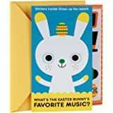 Hallmark Funny Easter Greeting Card For Kids Boy Bunny With Coloring And Stickers Activity