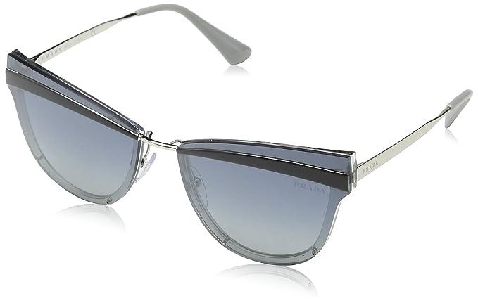 Prada 0PR 12US, Gafas de Sol para Mujer, Grey, 58: Amazon.es ...