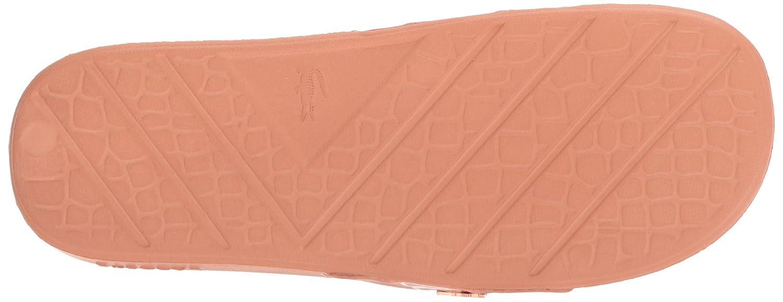 Lacoste Women's Fraisier Slides B073G6DCF1 5.5 B(M) US|Pnk/Pnk