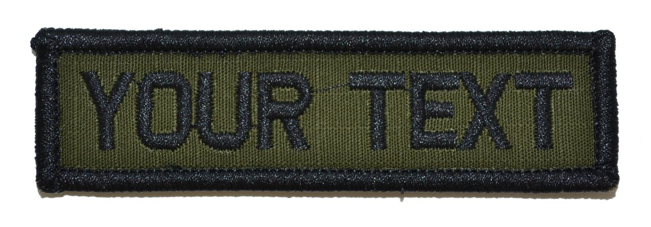Customizable Text 1x3 Patch w/Hook Fastener Morale Patch - Multicam Tactical Gear Junkie Custom_1x3_MC