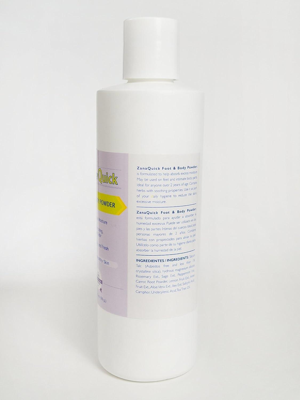 Amazon.com: Zanaquick Antifungal Powder Foot and Body Powder for Itching, Burning and Odor, Athletes Foot Remedies, Nail Fungus Treatments: Health ...