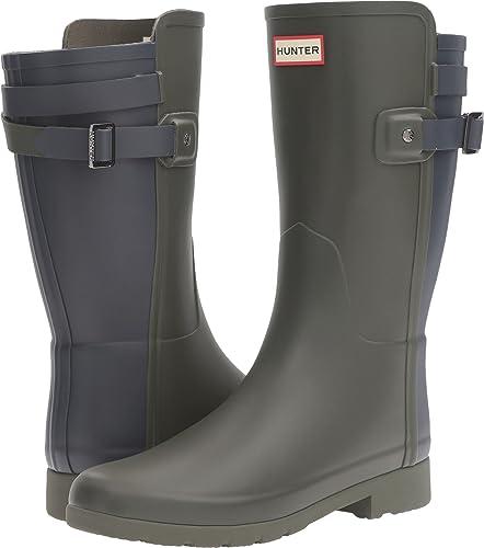 19b95c8bc Hunter Women s W Original Short BT Refined Dark Olive Navy Boot