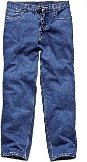 Dickies, WD1693, Jeans lavoratori stonewashed blue jeans BU 40T WD1693 BU 40T