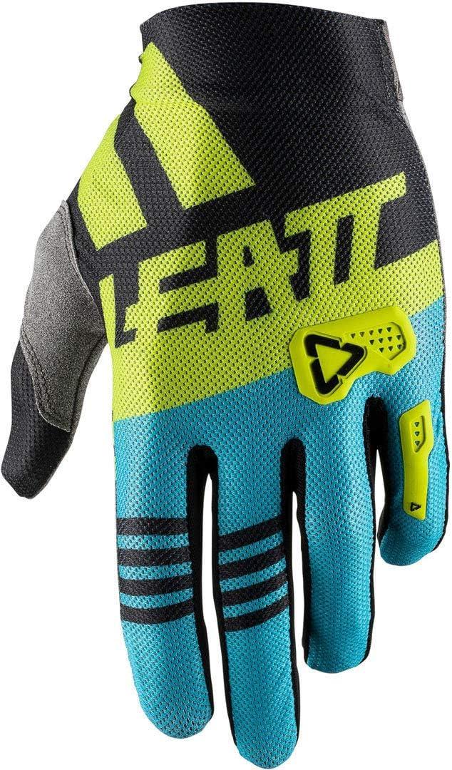 Unisex Erwachsene XL Black//Lime Leatt Moto Gpx 2.5 X-Flow Handschuhe