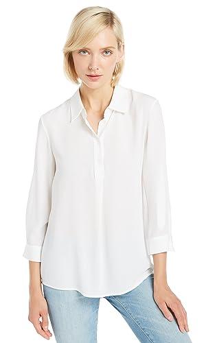 Lilysilk Camisa de Seda Mujer 3/4 Mangas 18MM
