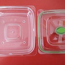 Foodsaver FFC015X-01 Fresh containers, Plástico, Transparente y ...