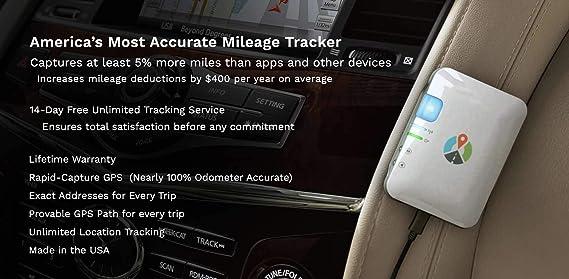 amazon com the mileage ace gps mileage tracker you can trust