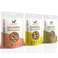McLovin's Freeze Dried Dog Treats High-Protein, Grain-Free, Premium Quality Meat, All-Natural Treats, Ingredient Sourced Locally, The Perfect High Value Training Reward