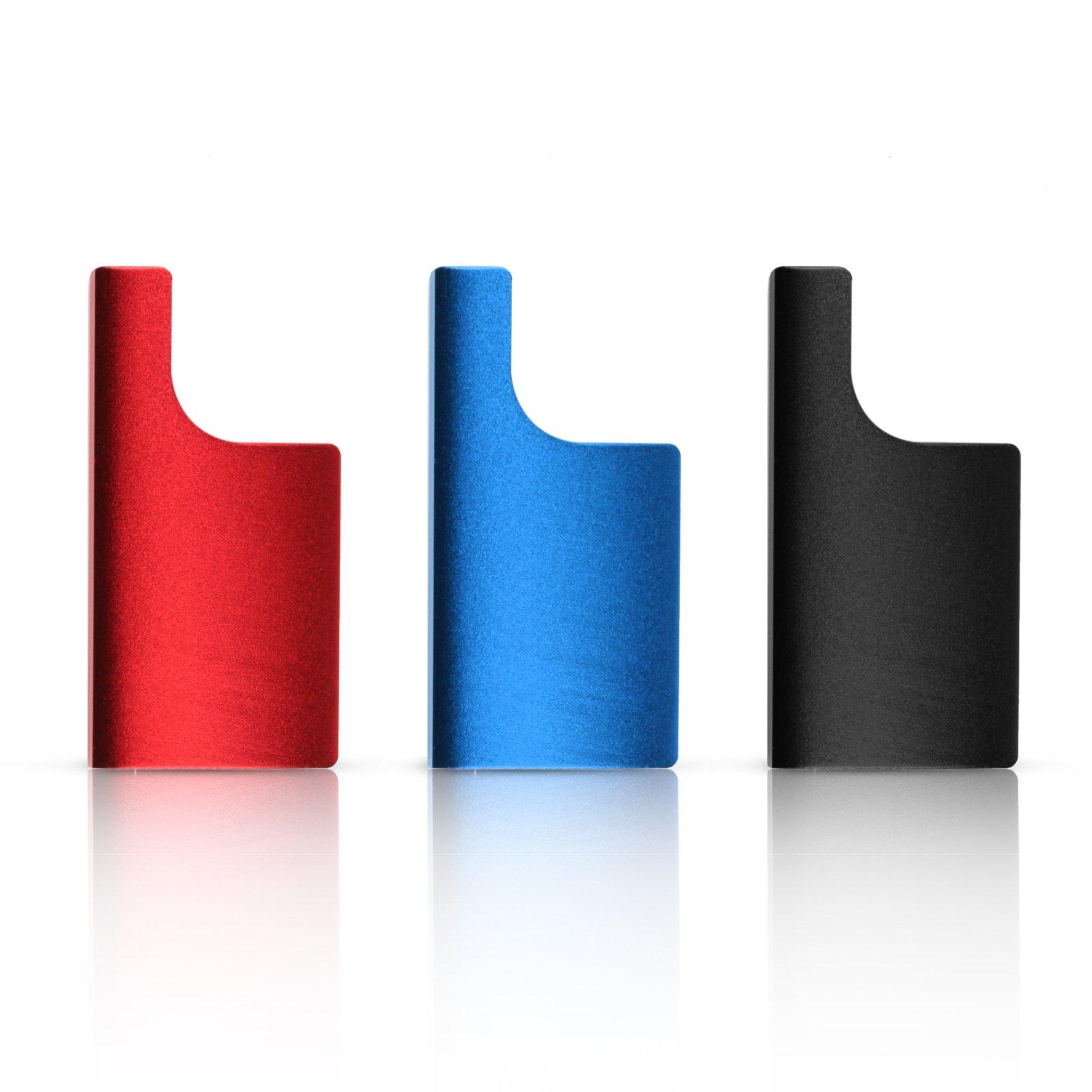 SHOOT 3PCS Multi-color Metal CNC Aluminum Replacement Rear Snap Latch Clip Standard Underwater Standard Waterproof Skeleton Housing Buckle Lock for GoPro HERO 3+/4 Camera Accessories (Red,Blue,Black)