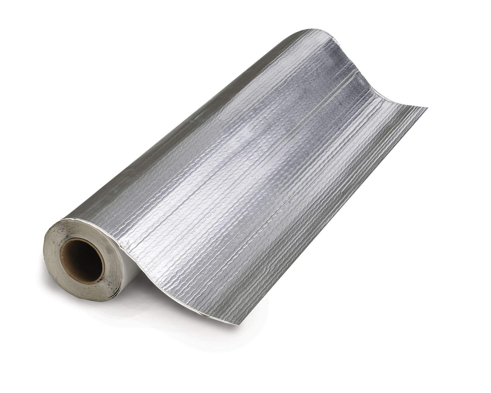 Flex Clad 400 Pipe and Duct Waterproofing Self-Stick Protective Sheet, Aluminum, 36'' x 33-1/2'' by BRB Products