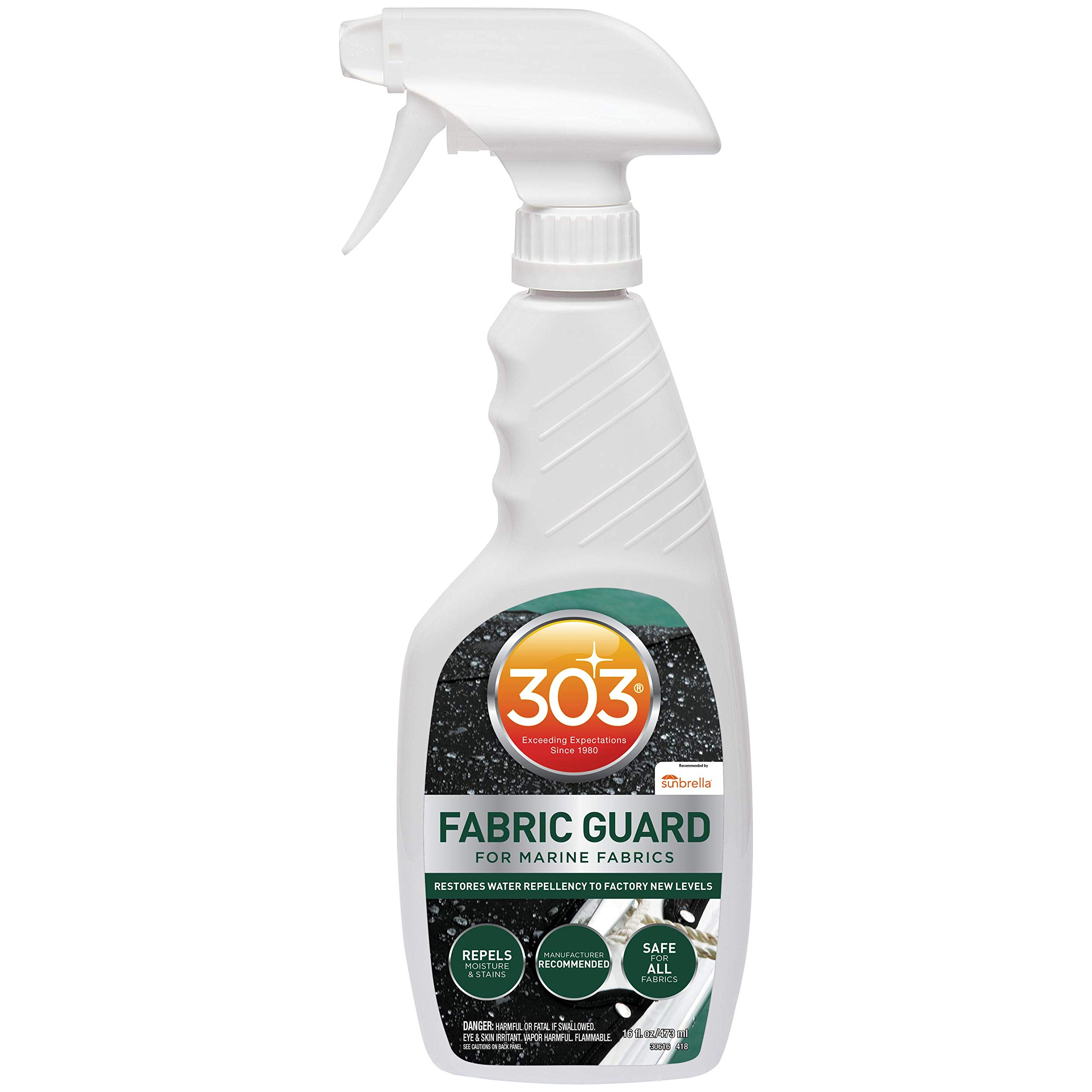 303 (30616CSR-6PK) Fabric Guard, Upholstery Protector, Water and Stain Repellent, 16 fl. oz., Pack of 6 by 303 Products (Image #1)
