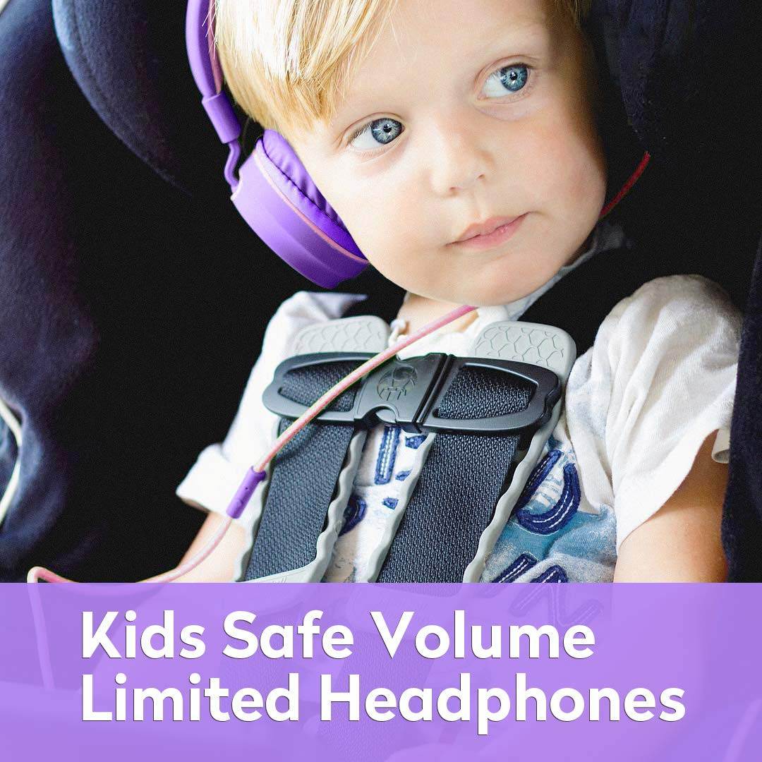 AILIHEN Kinder Kopfh/örer mit Kabel Mikrofon Lautst/ärke Kontroller Faltbarer Leicht Kinderkopfh/örer 3.5mm Jungen M/ädchen On-Ear Headsets f/ür Mobiltelefone Tablets Smartphones Laptops Computer Rosa