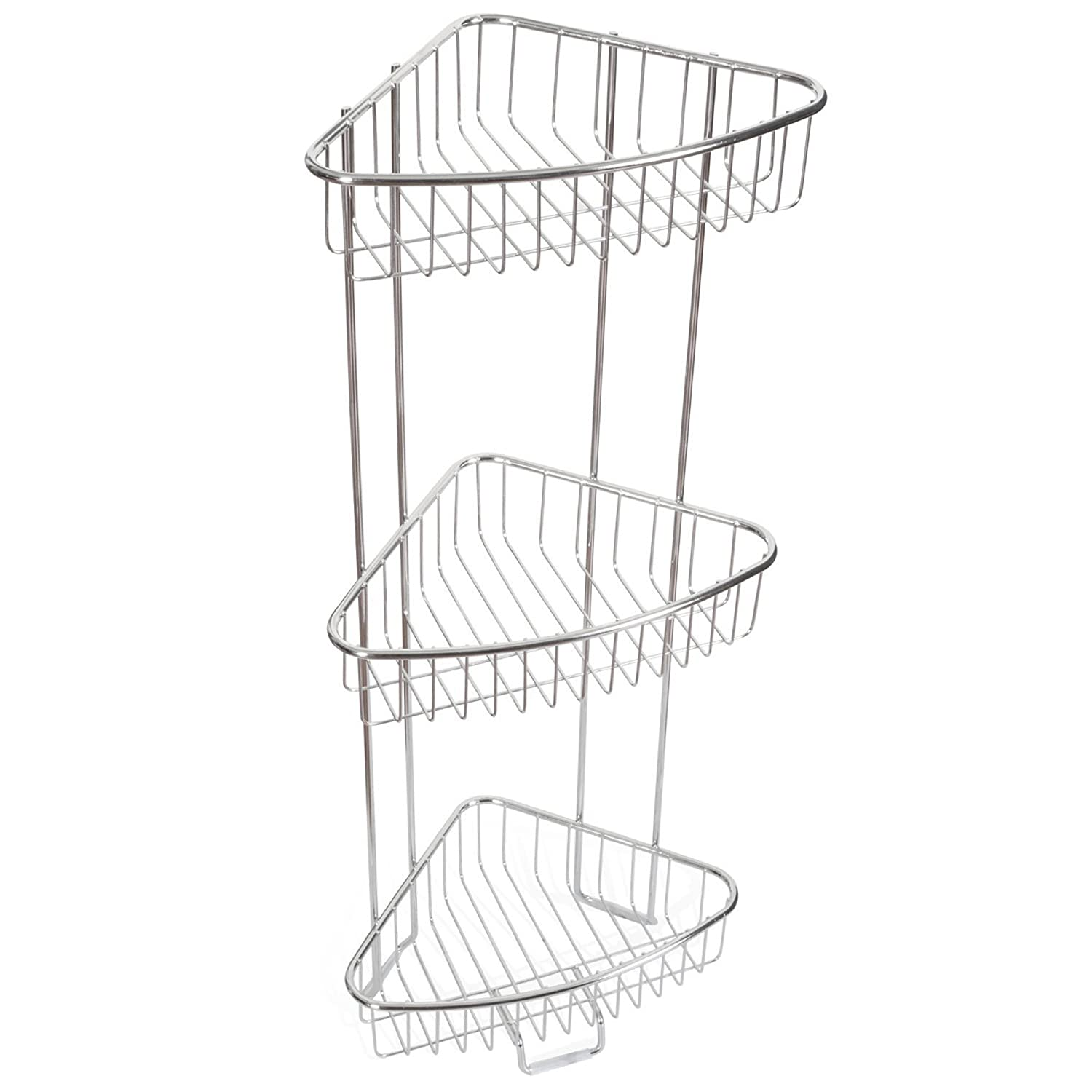 Amazon.com: ToiletTree Products Shower Floor Caddy, Stainless Steel ...