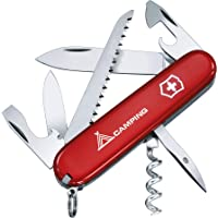 Victorinox 1.3613.71B1 Swiss Army Knife Camper, Red