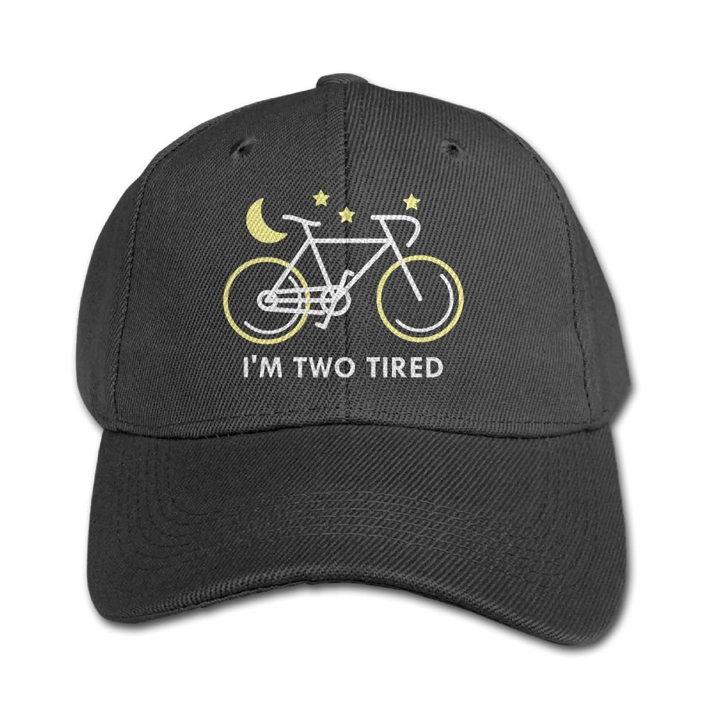 Haibaba Im Two Tired Boys and Girls Black Baseball Caps Solid Hats