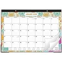 """2020 Desk Calendar - Desk Calendar 2020 Desk/Wall Monthly Calendar Pad, 17"""" x 12"""" Desk Pad Calendar, 12 Monthly Colorful Designs(1 Pcs)"""