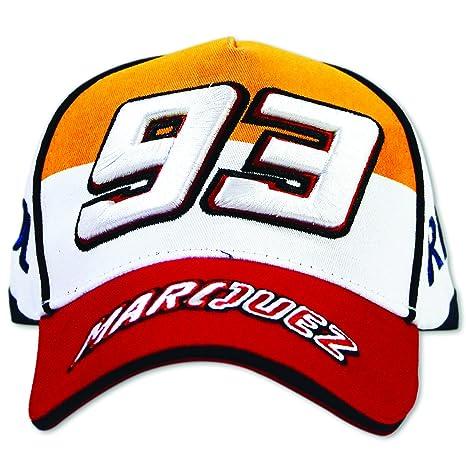 VR46 MotoGP Repsol 93 Marc Márquez Gorra De Béisbol Sombrero blanco