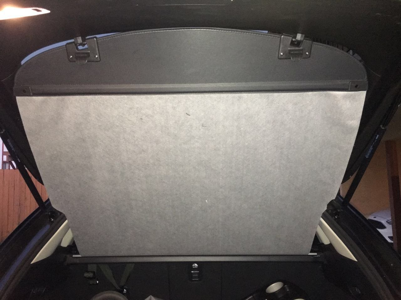 Kaungka Rubber Cargo Liner Rear Cargo Tray Trunk Floor Mat Waterproof Protector for 2017 2018 2019 Mazda CX-5