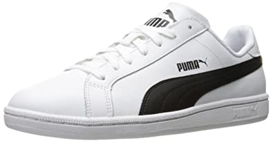 black white puma sneakers