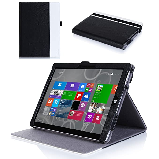 Amazon.com: Microsoft Surface 3 Caso – Procase premium folio ...